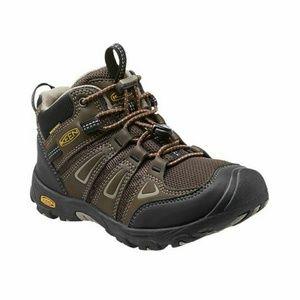 KEEN Oakridge Waterproof Mid Big Kids' Hiking Boot